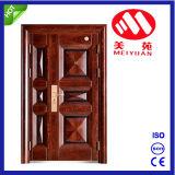 Porte en acier de Fils-Mère de porte en métal de Yongkang de qualité