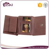 Женщин портмона кожаный коротких повелительниц PU высокого качества бумажник женщин створки бумажников конструктора роскошных
