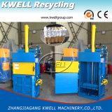 Máquina hidráulica de la prensa del papel usado/máquina de embalaje/empaquetadora vertical de la prensa