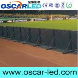 P8 전시를 광고하는 옥외 경기장 측 작은 LED
