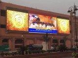 Afficheur LED extérieur/écran de la publicité extérieure d'Afficheur LED de panneau de l'Afficheur LED P10 de RVB