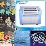 Ткань конкурентоспособной цены/ботинки/гравировка & автомат для резки лазера СО2 кожи/ткани