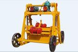 Qt40-3bの機械に機械を形作る具体的な煉瓦をする移動式卵の層のブロック