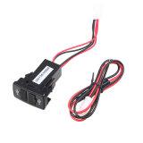 新しい二重5V 2.1A USBはトヨタ車のための充電器を移植する