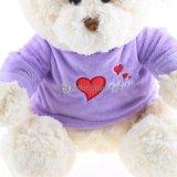 Urso macio do brinquedo do urso da peluche do luxuoso com roupa