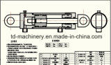 Máquina escavadora hidráulica da cubeta de /Arm/ do crescimento do cilindro de gás de Daewoo Hyundai R225-7 mini