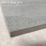 Mattonelle di pavimento di ceramica dell'arenaria di sembrare di Inporter della parete 3D dell'ente completo esterno grigio del getto di inchiostro