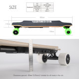 Preiswertestes elektrisches Skateboard 40km/H mit Doppelnaben-Motor und entfernbarer Batterie der Vorlagen-Samsung/LG