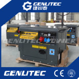 Трехфазный молчком тепловозный генератор 6.0kVA для пользы дома