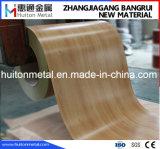 Bobine en acier de configuration en bois