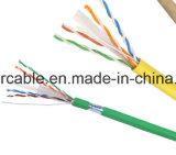 ftp SFTP Cat5e del cable de LAN del establecimiento de una red 4pairs UTP con la chaqueta de LSZH