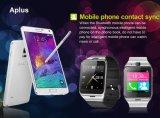 O Android da sustentação NFC de Aplus do relógio esperto esperto de Bluetooth do relógio e o perseguidor Wearable do telefone GSM/Pedometer/Sleep do Ios/Anti-Perderam o cartão de SIM
