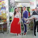 Картон индикации сек фотоего выставки Китая рекламируя Standee