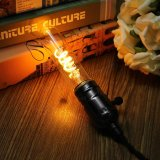 Ampoule AC220V de rétro d'Edison de cru de l'ÉPI DEL d'E27 Dimmable de lampe filament d'intérieur industriel d'éclairage