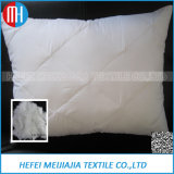 China de fibra de poli relleno blanco cómoda almohada
