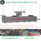 Por completo máquina de empaquetamiento al vacío del alimento cocido continuo automático del estiramiento Dlz-420
