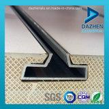 Perfil T5 de alumínio do bom preço da venda direta da fábrica para o MDF de Slatwall da inserção