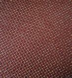 Couro sintético de primeira qualidade e da forma do projeto para a decoração da mobília (HTS012)