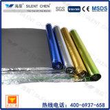 A espuma contínua de bambu estratificada do assoalho foi a base com folha de alumínio