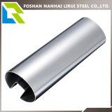 304/316 tubo de la ranura del acero inoxidable