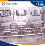 Máquina de enchimento pura da água do frasco automático de 5 galões