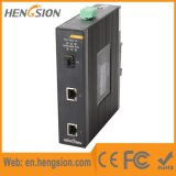 2 1 da rede Ethernet do SFP interruptor industrial portuário de Tx e
