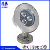 AC12V 12W LEDの水中ライトを変更するIRリモート・コントロールRGBのカラー