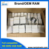 휴대용 퍼스널 컴퓨터를 위한 Kvr800d2n6/2GB DDR2 2GB 800MHz 렘