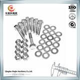 Pièces en aluminium de machine à coudre de moulage au sable de produits d'OEM Chine