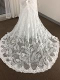 Spitzenverkauf/modisches Nixe-Hochzeits-Kleid mit eindeutiger Spitze