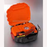 компрессор воздуха автошины 12V в компактной форме коробки