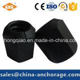 Сферически Hex гайка для высокопрочной продетой нитку стальной штанги