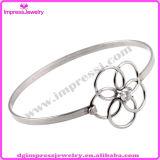 花316Lのステンレス鋼の女性のブレスレット拡張可能ワイヤー腕輪