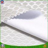 Polyester tissé par tissu à la maison de rideau en textile enduisant le tissu ignifuge d'arrêt total pour le rideau en guichet