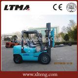 Nuovo colore carrello elevatore a forcale di potenza di motore da 3 tonnellate con migliore qualità