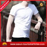 T-shirt 100%, T-shirt de bonne qualité de coton de la mode des hommes ordinaire de coton