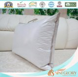 Cuscino domestico di riempimento dell'assestamento dell'hotel di Microfiber del tessuto di cotone