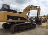 2012 excavatrice de chenille du chat utilisée par an 345D, excavatrice 345D de chenille de tracteur à chenilles