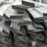 Purlin galvanisé de forme de l'acier C Z pour les Chambres structurales en acier