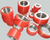 Rotelle rosse del rivestimento del poliuretano dell'unità di elaborazione