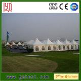 Tente extérieure de luxe de pagoda de Gazebo de PVC de chapiteau avec des accessoires