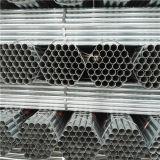 Tubo de agua galvanizado sumergido caliente del horario 40 del material de construcción