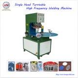 Machine de soudure à haute fréquence de plaque tournante principale simple