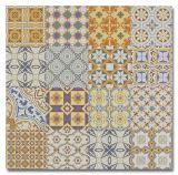 2017 Patrón de Foshan nueva flor del azulejo de porcelana Baja en suelo o pared