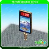 Алюминиевый знак коробки Lightbox-Света Коробк-Рекламы СИД светлый