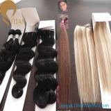 Соткать человеческих волос Remy девственницы фабрики оптовый бразильский