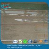 Дверь листа PVC противостатической зеленой складки на подобие гармоники качества еды пластичная