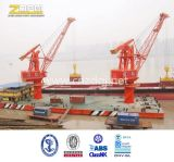 Плавая морской кран /Offshore крана корабля в море