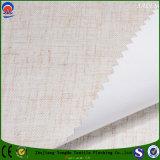 Ignífugos de lino del poliester ennegrecen hacia fuera la tela de la cortina para la materia textil casera