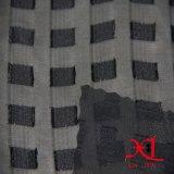 Tela negra de la manera del telar jacquar para la alineada/el paño/Hijab